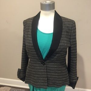 Carolina Herrera Sequin Tweed Blazer Size 16 EUC